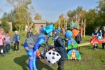 «Газпромнефть-Оренбург» подарил новосергиевцам новые игровые площадки