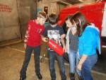 Экскурсия детей в пожарной части № 26