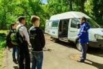 «Газпромнефть-Оренбург» показал детям мобильную эколабораторию