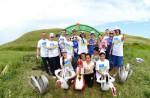 Волонтеры «Газпромнефть-Оренбурга» обустроили родник в Переволоцком районе