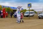 Волонтеры «Газпромнефть-Оренбурга» научили детей Оренбургского района  безопасно ходить в школу
