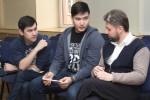 Нестеров (справа) с участниками конкурса