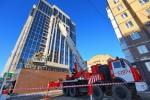 В новом офисе «Газпромнефть-Оренбурга» прошли пожарно-тактические учения