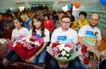 «Родные города»: волонтеры из Бердянки поздравили тружеников тыла и детей войны с Днем Победы