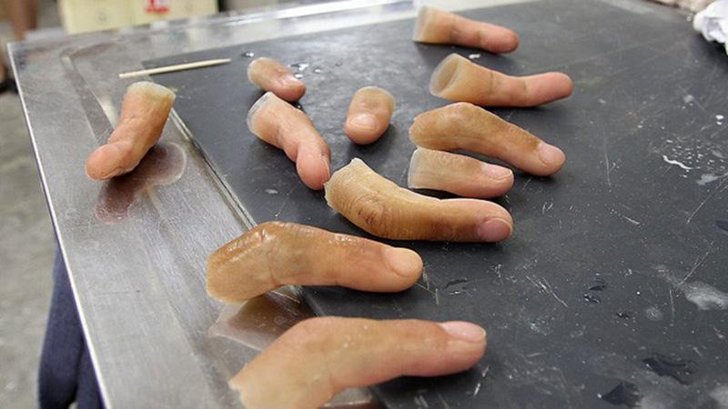 Протез пальца своими руками