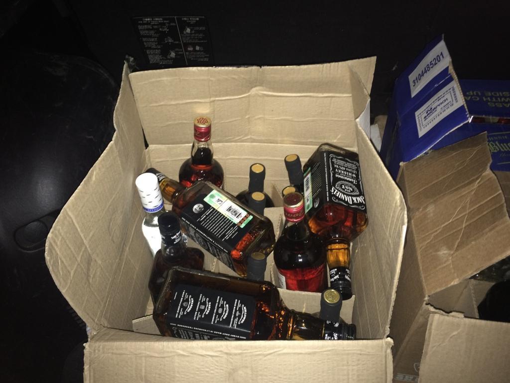 Незаконная реализация алкогольной продукции коап