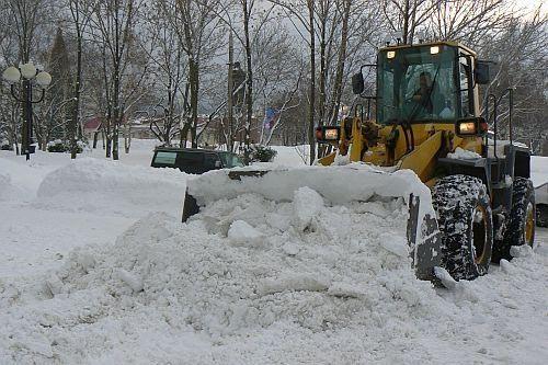 Очистка крыши от снега рязань