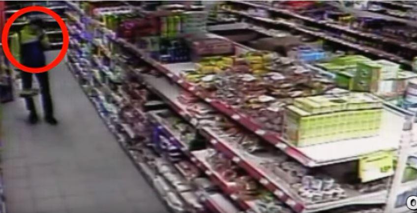 кража в магазине лента Каллистрон